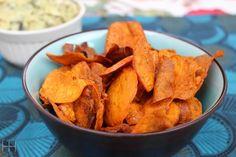 Crispy Paleo Sweet Potato Chips Recipe