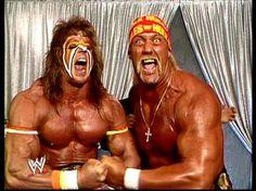 The Ultimate Warrior & Hulk Hogan