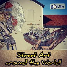 For those who love arts! Today we launched our photo gallery about Street Art. A bunch of cool images that we found around the world. Check them out! #Love #Road #Art #aroundtheworld #streetart #art #pics #awesome #graffiti #europe #portugal #lisbon #brazil #france #love #color #design #instacool #cool #friday #wall loveandroad's photo on Instagram