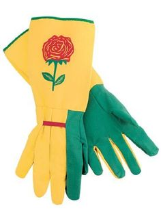 Garden Gloves with Extra Long Cuffs -- Additional details at the pin image, click it  : Gardening Supplies
