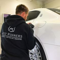 Polishing out this Maserati Quattroporte before it gets the special treatment aka Ceramic coating for the ultimate 5 year protection by @autorunnersdetailing #details #detailing #mobiledetailing #ceramic #coatings #az #phoenix #scottsdale #chandler #carsandcoffee #cars #porsche #ferrari #lamborghini #clean #polish #wash #carselfie #detailersofinstagram #maserati