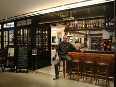 """Le Beurrre-Noisette, l'un des restaurants arborant le label « Des produits d'ici, cuisinés ici », propose une cuisine à base de produits """"locavores"""""""