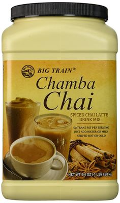 Big Train Chamba Chai Spiced Chai Lattei, Two  4lb. Jugs -- Check out this great product. (This is an affiliate link and I receive a commission for the sales)