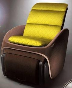 a stylish massage chair