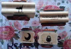 Stampin' Up! HALLOWEEN FRIGHTS ~ Cat Bat Owl Jack-o-Lantern Moon Spooky #StampinUp