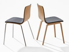 UPHOLSTERED STACKABLE CHAIR AAVA AAVA COLLECTION BY ARPER | DESIGN ANTTI KOTILAINEN