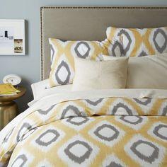 Yellow Duvet On Pinterest Home Decor Bedding Grey Duvet