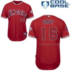 http://www.xjersey.com/angels-16-street-red-cool-base-jerseys.html ANGELS 16 STREET RED COOL BASE JERSEYS Only $43.00 , Free Shipping!