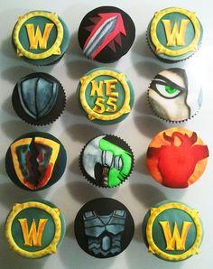 world of warcraft cupcakes - Buscar con Google