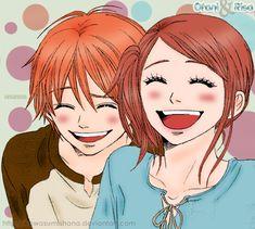 Otani and Risa by KawasumiShana.deviantart.com on @DeviantArt