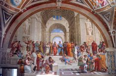 Raphael - Disputation of the Holy Sacrament - Raphael Rooms - Wikipedia, the free encyclopedia