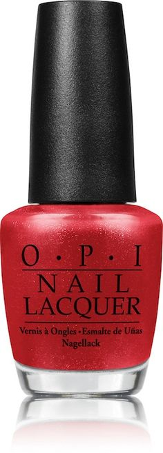 Currently wearing OPI James Bond The Spy Who Loved Me - Perfect Holiday Color and comes in gel!