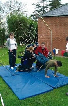 Image result for outdoor team building games for youth