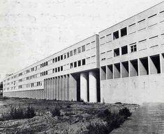 Residential Complex Gallaratesse District, Milan. Italy, 1969-1970 Architect: Aldo Rossi