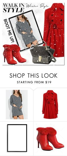"""Winter Style"" by jecakns ❤ liked on Polyvore featuring Bomedo"