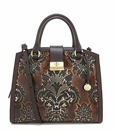 LOVE this purse...too bad I need a black one :( Brahmin Fresco Collection Oxford Satchel #Dillards