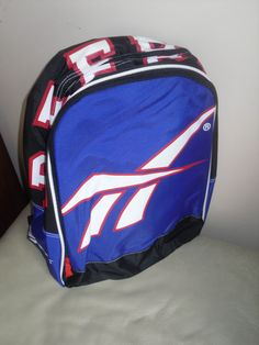 Retro Reebok Rucksack - Blue & Red