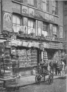 An East London pet store in the with a wall of caged song-birds at Club Row. The Huguenots were known for loving caged birds. My dad did too. Victorian Life, Victorian London, Vintage London, Victorian Street, Victorian History, Victorian Photos, London History, British History, Uk History