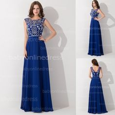 Find More Prom Dresses Information about High end real photo custom made crystal royal blue prom dresses Long elegant evening dress open back party dress BZP0430,High Quality dress ballet,China dresses for wide hips Suppliers, Cheap dress monsoon from Dress Just  For You.  on Aliexpress.com