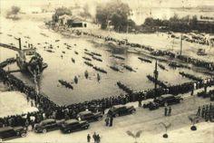 Torneio de Regatas no Clube Espéria, no Rio Tiête.