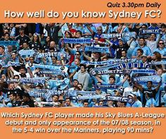Daily quizzes from Sydney FC to engage fans on social media platforms