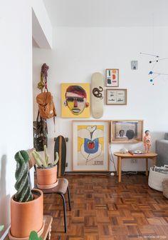 Apê pequeno e alugado com varanda | Histórias de Casa