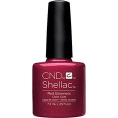 Creative Nail Design Shellac UV Color Coat Red Baroness *** You can get more details by clicking on the image.Note:It is affiliate link to Amazon.