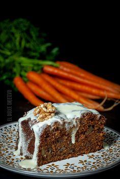 Bizcocho de Zanahoria Especiado: Blog dedicado a la repostería y los dulces. American Cake, Pan Dulce, Carrot Cake, Tiramisu, Delicious Desserts, Carrots, Bakery, Food And Drink, Cooking Recipes