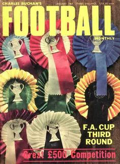 Charles Buchan's Football Monthly magazine for Jan 1969 featuring the FA Cup 3rd Round on the cover.