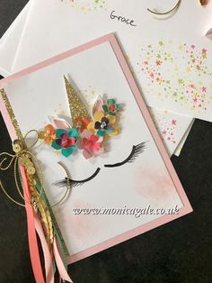 Monica Gale Top STAMPIN'UP! UK Demonstrator: Unicorn Party Invites