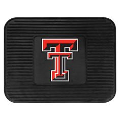 "Texas Tech Utility Mat - Boast your team colors with utility mats by FANMATS. High quality and durable rubber construction with your favorite team's logo permanently molded in the center. Non-skid backing ensures a rugged and safe product. Due to its versatile design utility mats can be used as automotive rear floor mats for cars, trucks, and SUVs, door mats, or workbench mats.FANMATS Series: UTILITYTeam Series: Texas Tech UniversityProduct Dimensions: 14""x17""Shipping Dimensions…"