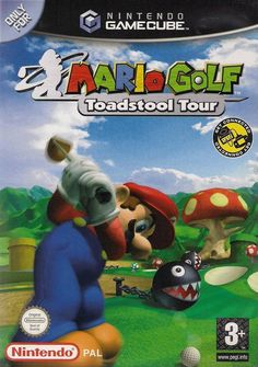 The U.S Box Cover for #MarioGolf Toadstool Tour for #Gamecube. #Mario. http://www.superluigibros.com/mario-golf-toadstool-tour