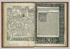 16th century woodcut in religious book