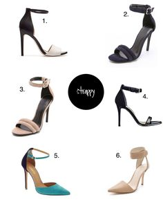 canvasstyle: strappy heels