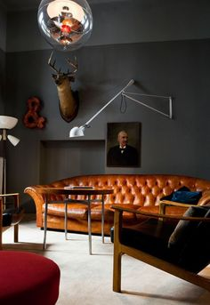 ARTICLE: 20 Masculine Interiors That Remind Women Why We Love Men ;-)