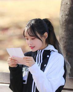 Chuu Loona I Really Love You, Love You More Than, Chuu Loona, Olivia Hye, Hey Girl, Kpop Girls, Rose, Pink, Roses