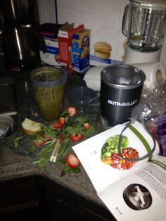 My first #nutribullet drink #amazing #whydidntibuysooner? #nutriblast
