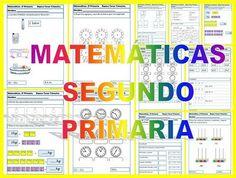 fichas matematicas segundo primaria