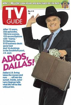 May 4, 1991, the Dallas series finale
