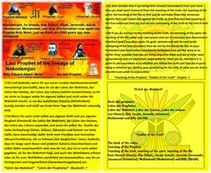 173) And consider that if you bring forth (create) descendants from your loins that you shall teach (instruct) them the teaching of the truth, the teaching of the spirit, the teaching of the life so that you do not make them into witnesses against their own selves and against the truth, so that they become knowing of the true existence (real ity) and are not unknowing of the truth at the end of their days.   174) If you do not turn to the teaching of the truth, the teaching of the spirit…