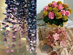 Mikor megláttam ezeket az ötleteket, a szavam is elállt! Nem tudtam, hogy ennyi minden készíthető tojástartókból! - Bidista.com - A TippLista! Diy Crafts Hacks, Decor Crafts, Diy And Crafts, Paper Crafts, Christmas Ornament Crafts, Paper Flowers Diy, Wreath Tutorial, Flower Making, Flower Arrangements