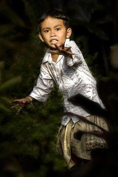 A boy in Ubud, Bali