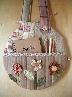 Bolso de patchwork. Patchwork bag.