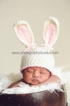newborn bunny hat - Google Search