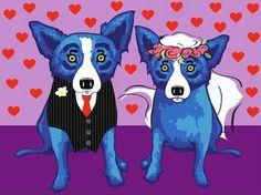 Blue Dog wedding
