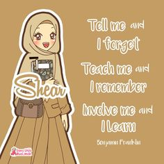 57+ Gambar Kartun Muslimah Unyu HD Terbaru