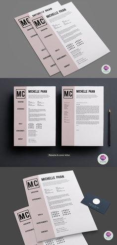 CV Template ( Cover Letter) #cvdesign #resumdesign