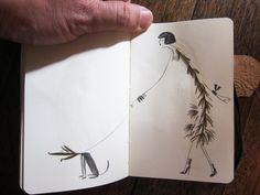 dry leaves drawings