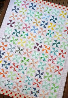 Red Pepper Quilts: Pinwheels!