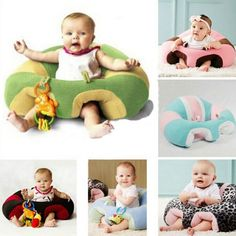Infant Baby Support Seat Soft Cotton Travel Car Seat Pillow Cushion Toys 0-2Year #GL